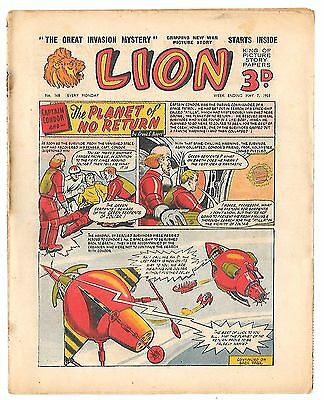 Lion 168 (7th May 1955, high grade copy) Captain Condor by Frank Pepper