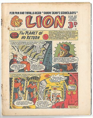 Lion 172 (4th June 1955, high grade copy) Captain Condor by Frank Pepper