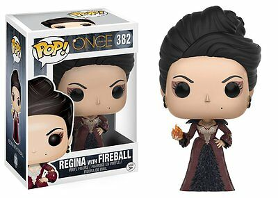 Regina With Fireball Once Upon A Time Pop Vinyl Figure Funko New #382