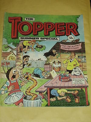 THE TOPPER SUMMER SPECIAL 1987 Very Good