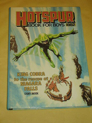 THE HOTSPUR BOOK FOR BOYS ANNUAL (1982) Excellent Condition