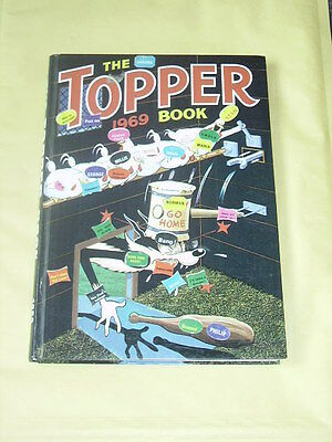 THE TOPPER BOOK ANNUAL (1969) Great Condition... except for 1 thing