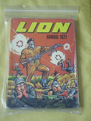 LION ANNUAL (1977) Poor/Fair Condition SOFTCOVER ANNUAL!