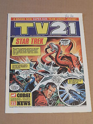 TV21 Comic #53 Sep 26th 1970 New Series Excellent Condition