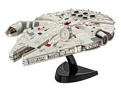 Star Wars Episode VII Model Kit 1/241 Millennium Falcon 10 cm By Revell