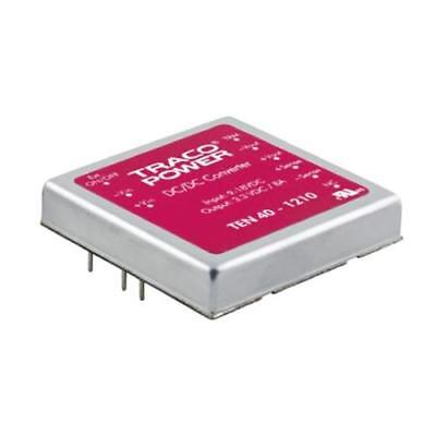 1 x TRACOPOWER Isolated DC-DC Converter TEN 40-4833, Vin 36-75V dc