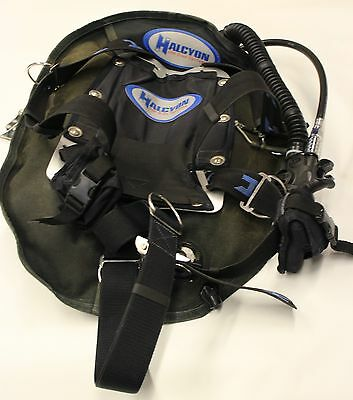 Halcyon Eclipse 30 Wing System with Standard Harness aluminum Scubapro Air 2