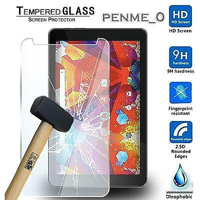 Real Tempered Glass Film Screen Protector For Argos Alba 8 Inch