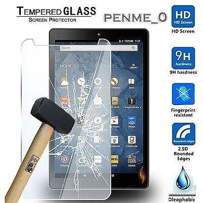 Real Tempered Glass Film Screen Protector For Amazon Kindle Fire HD 8 2016