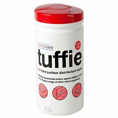 Tuffie Infection Control Surface Wipes, Tub of 200