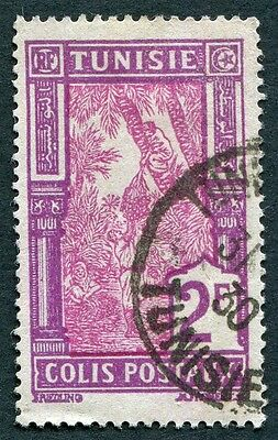 TUNISIA 1926-41 2f carmine and magenta SGP157 used NG PARCEL POST! #W2