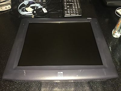 """Elo Touchsystems Et1725L 17"""" Touch Screen With Power Cord Pos Screen"""