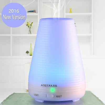 Essential Oil Diffuser, Arespark 100ml Portable Ultrasonic Aroma Humidifier with