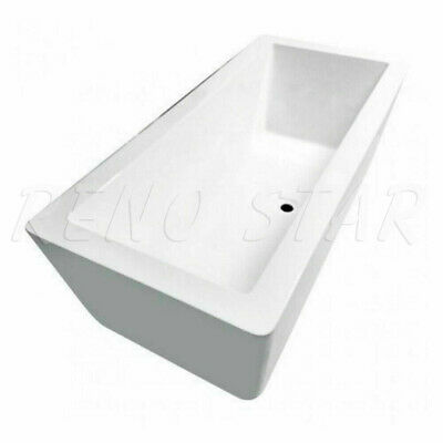 Modern Square Free Standing Big Foot Bathtub with 2 size available