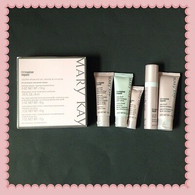 Fresh New Mary Kay Timewise Repair Volu-firm Deluxe Mini Travel Set Exp 02/2018