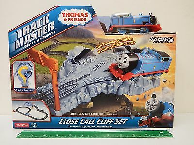 """Thomas & Friends Track Master """"CLOSE CALL CLIFF SET"""" Ages 3+"""