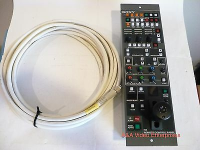 Sony RCP-720 control panel/paintbox+10m CCA5 cable for HDC/HXC/PMW/PDW