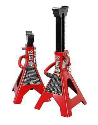 Torin Jacks T43002A 3 Ton Double Locking Jack Stands (Sold in Pairs)