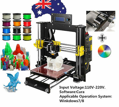 2016 Upgraded Full Quality High Precision Reprap Prusa i3 DIY 3d Printers