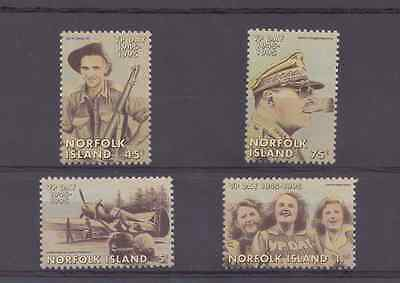 1995 END OF WWII - VP DAY Set Of 4  MUH