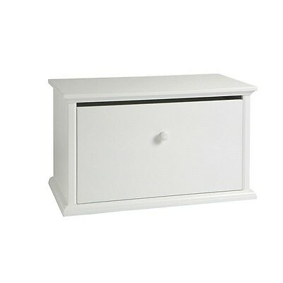 NEW bebe care Wooden Toy Storage Box White  #`095032-003