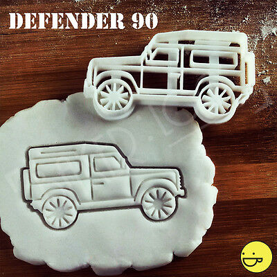 Defender 90 cookie cutter for Land Rover fans | automobile biscuit suv vehicle