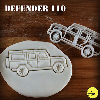 Defender 110 cookie cutter for Land Rover fans | automobile biscuit suv vehicle