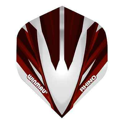 TON MACHINE RED RHINO TOUGH STANDARD DART FLIGHTS - WINMAU - 1/5/10 Sets