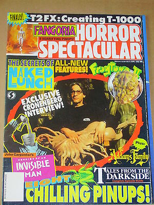 FANGORIA HORROR SPECTACULAR #6 Naked Lunch/Tales From The Darkside/Frogtown 2/T2