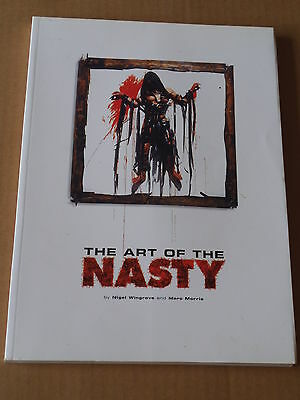 THE ART OF THE NASTY (1998, S/C, 150 pages) Pre cert horror and sleaze video art