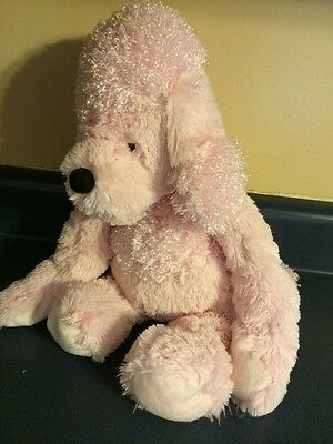 Ganz Hug A Longs Pink French Poodle Stuffed Animal Plush 18 Toy