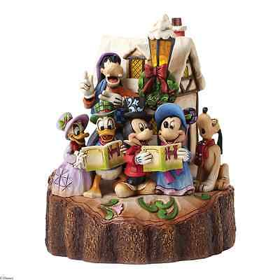Disney Traditions by Jim Shore 4046025 DSTRA Carved by Heart Caroling