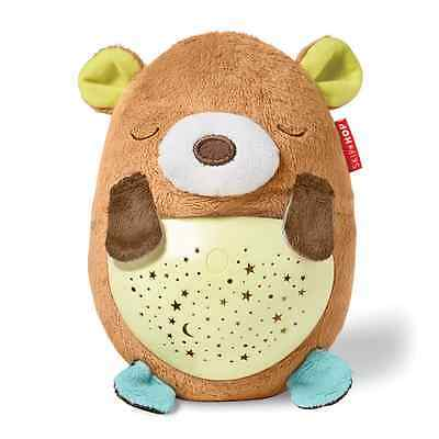 Skip Hop Moonlight and Melodies Hug Me Projection Soother, Bear, Multi, Small/La