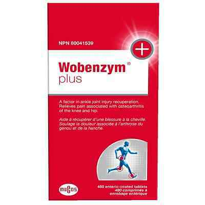 Wobenzym Plus e-Tabs, 480 Count
