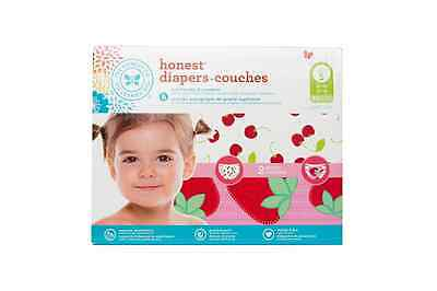 The Honest Company Diapers, Strawberries and Cherries, 50 Count, Size 5