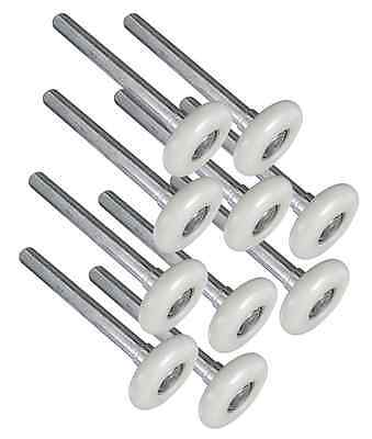 IDEAL SECURITY SK7123-5U Deluxe Nylon 10 Ball Bearing Rollers, Nylon and Steel(P