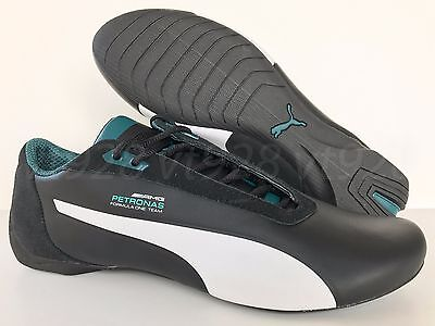 New Puma Mamgp Future Cat S2 Men's Mercedes Shoes Black All Sizes