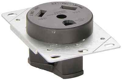 RV Designer Collection S971 30 Amp Flush Receptacle