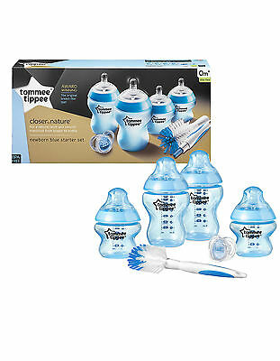 Tommee Tippee Closer to Nature Newborn Starter Kit Set Boys / Girls / bba free
