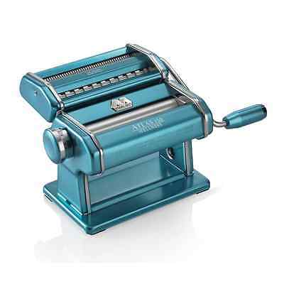 Marcato Atlas Wellness 150 Stainless Steel Pasta Maker, Light Blue