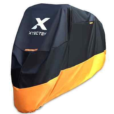 XYZCTEM Motorcycle Cover - All Season Waterproof Outdoor Protection - Precision
