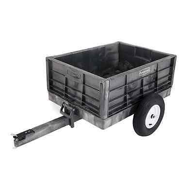 Rubbermaid Commercial Unassembled Structural Foam Tractor Cart, 750-Pound Capaci