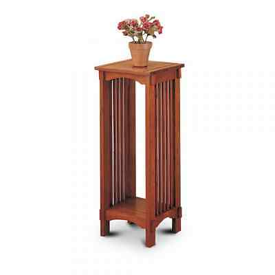 Coaster Home Furnishings Kittitas Plant Stand in Solid Wood, Oak