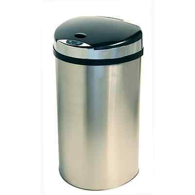 iTouchless IT13HX 49-Litre Semi-Round Extra-Wide Opening Touchless Trash Can Eli