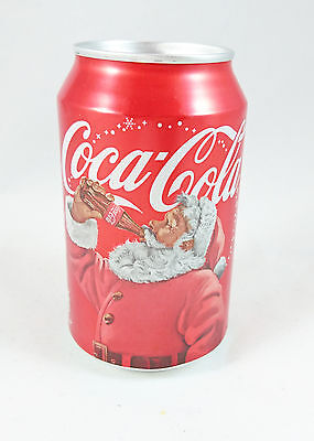 2016 Coca Cola Christmas Edition Santa Claus Full Unopened Can - 330ml
