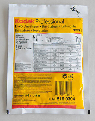 Kodak D-76 Black and White Film Developer 1 Litre