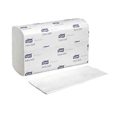 Tork 100297 Xpress Premium Extra Soft 2-Ply Interfold Hand Towels, White
