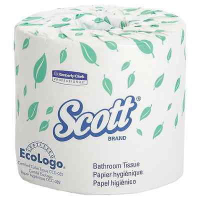 Scott Bulk Toilet Paper (04460), Individually Wrapped Standard Rolls, 2-PLY, Whi