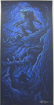Predator Blue Variant by Dan Mumford Signed and Numbered Print 35/50