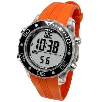Pyle-Sport PSNKW30O Snorkeling Master with Dive Duration Depth Water Temp Max 10